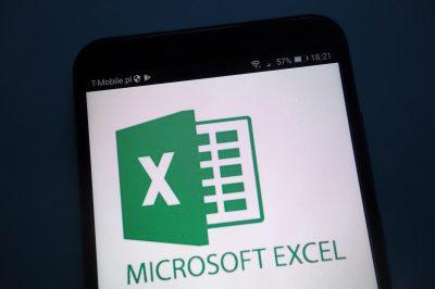 Konskie,,Poland,-,September,22,,2018:,Microsoft,Excel,Logo,On
