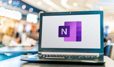 Poznan,,Pol,-,Apr,28,,2020:,Laptop,Computer,Displaying,Logo